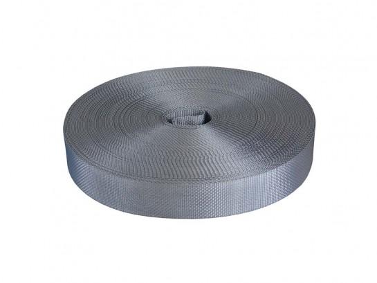 Polyester strap, gray