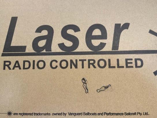 Crochet d'écoute Laser RC