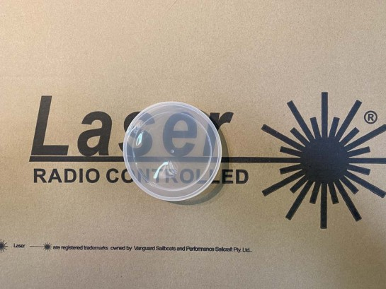 Radio RC laser hatch cover