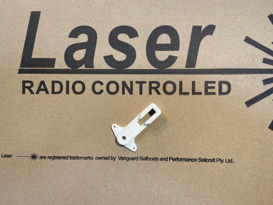 Rudder head lifter Laser RC