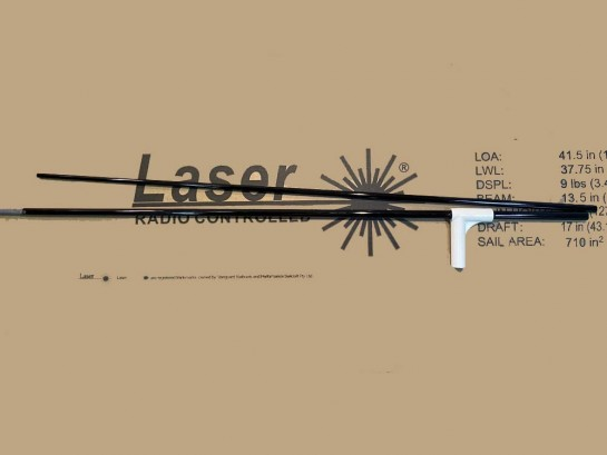 Mât B, C, D Laser RC