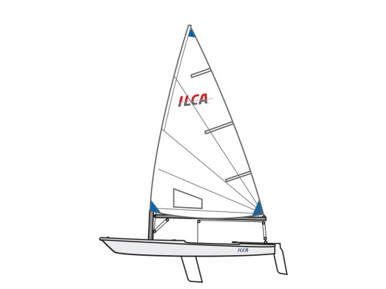 ILCA 6 (radial) Competition