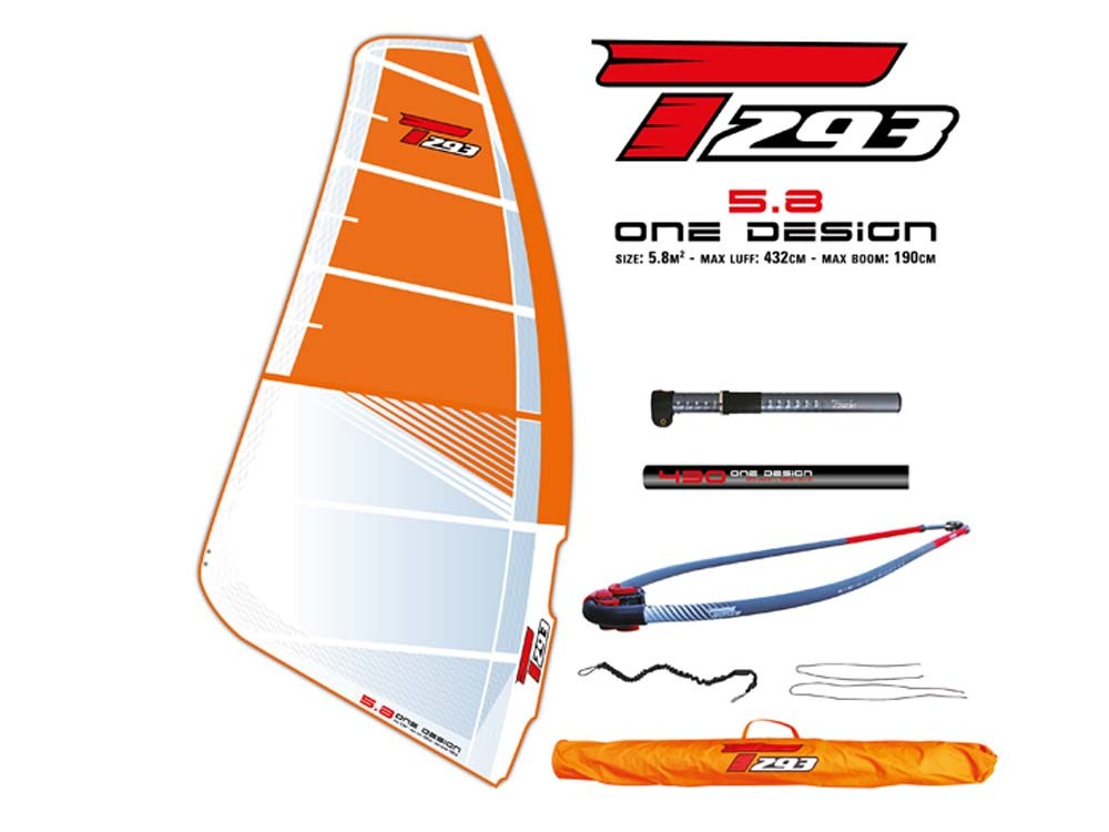 Windsurf Planche A Voile Bic Sport Taille Pack One Design 5 8 M
