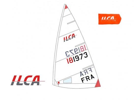 Voile / Sail ILCA 4 (4.7) + Numéros