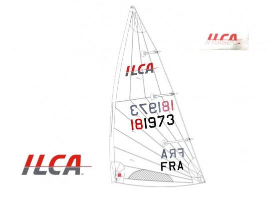 Voile / Sail ILCA 7 (Mk2) +...