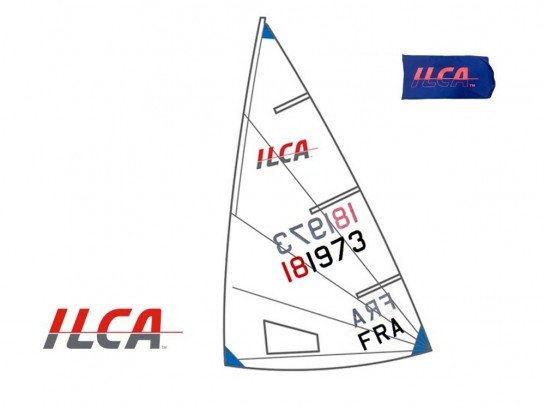 Voile / Sail ILCA 6...