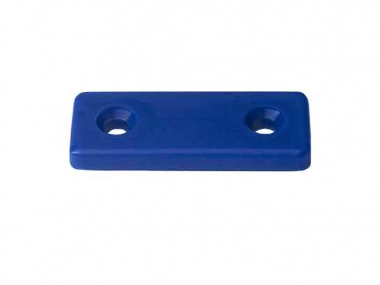 Return strap fixing plate