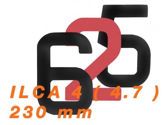 Numéro de voile ILCA 4...